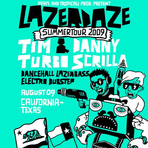 Lazerdaze Summertour 2009
