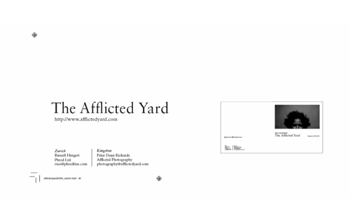 afflictedyard2006_cover.indd