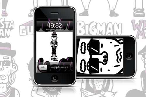 i-and-iPhone Wallpaper Pack 01 - Man of Mans