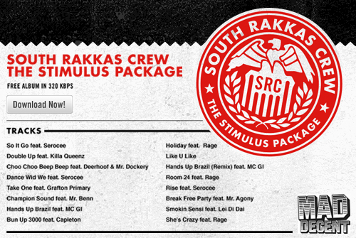 South Rakkas Crew - The Stimulus Package