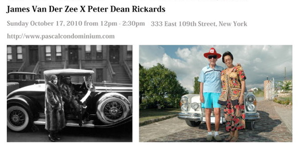 James Van Der Zee vs. Peter Dean Rickards
