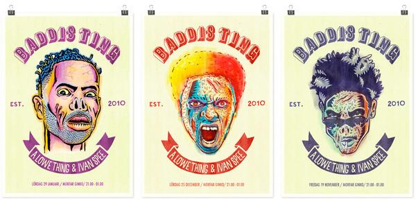 A Lowe Thing: Baddis Ting poser series