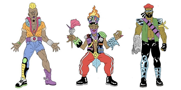 Major Lazer cartoon