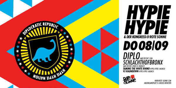 Hypie Hypie presents: Schlachthofbronx + Diplo