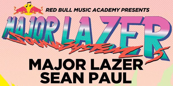Major Lazer Soundsystem 2012