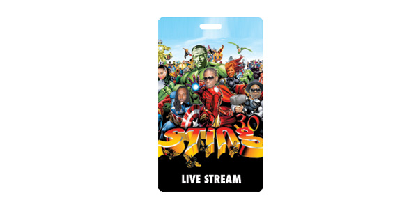 Sting 30 Live Stream Pass